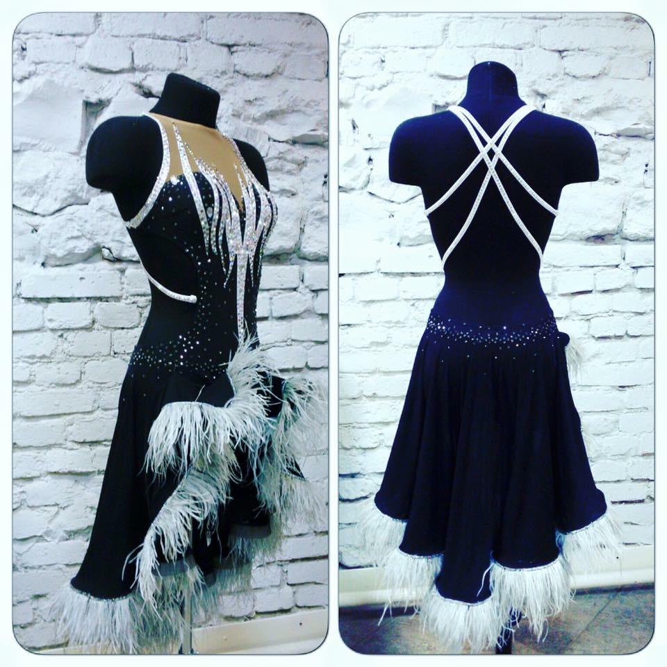 Тренировочные платья для бальных танцев сшить 61